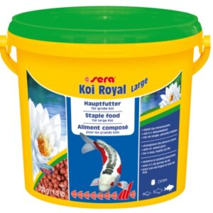 alimento para peces de estanque koi royal large
